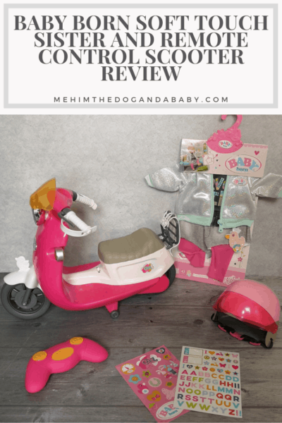 BABY born Soft Touch Sister And Remote Control Scooter Review