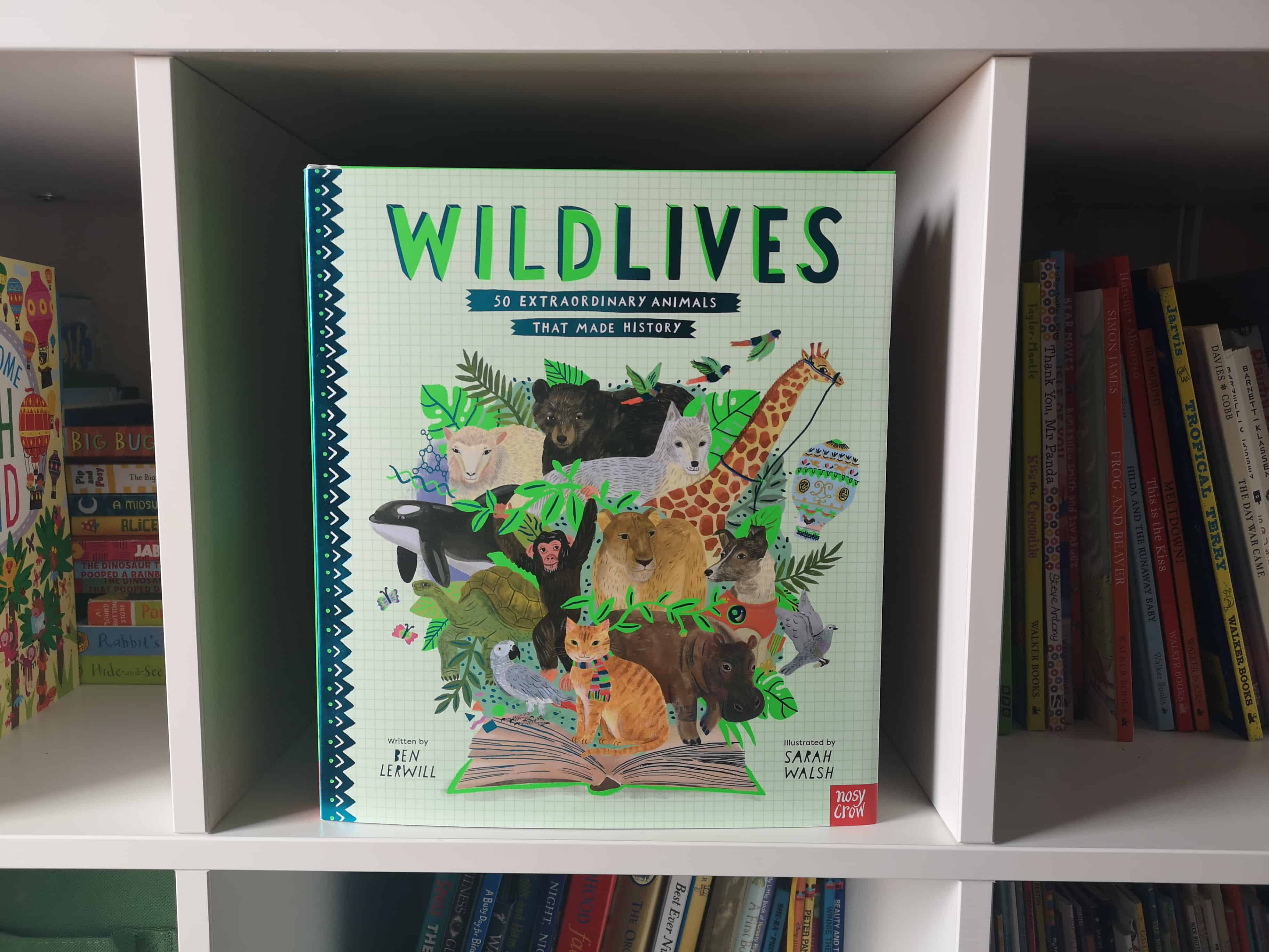 Children's Book Review: WildLives: 50 Extraordinary Animals that Made History