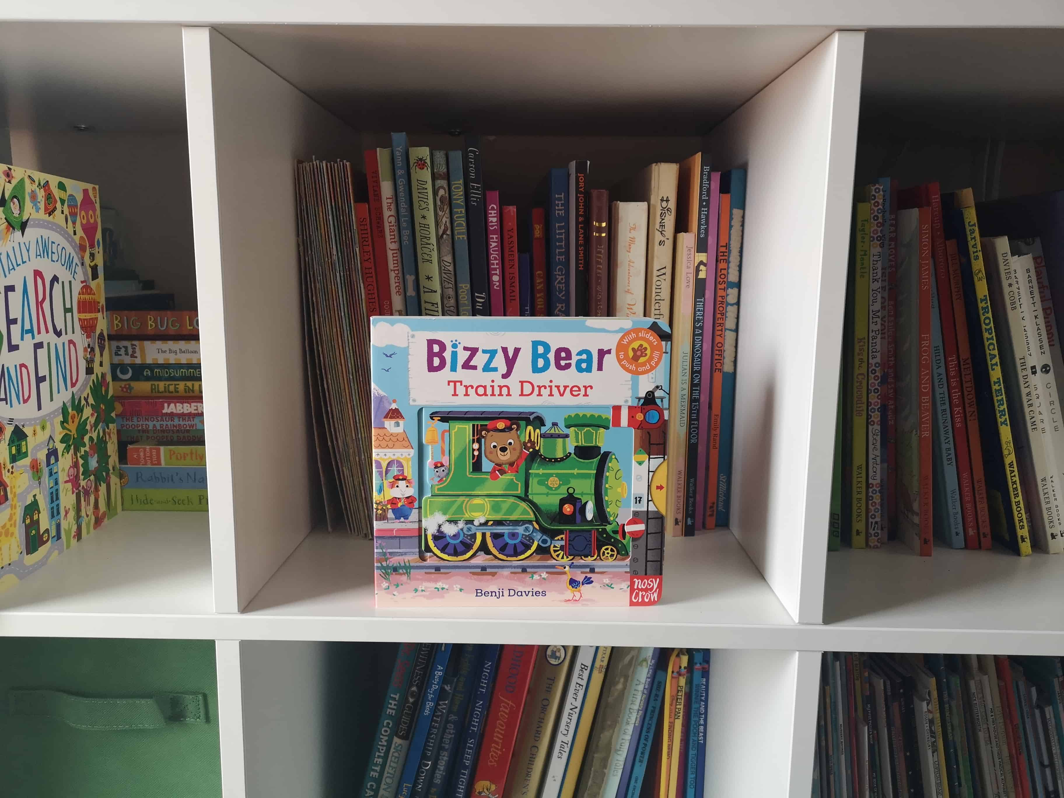 Children's Book Review: Bizzy Bear Train Driver