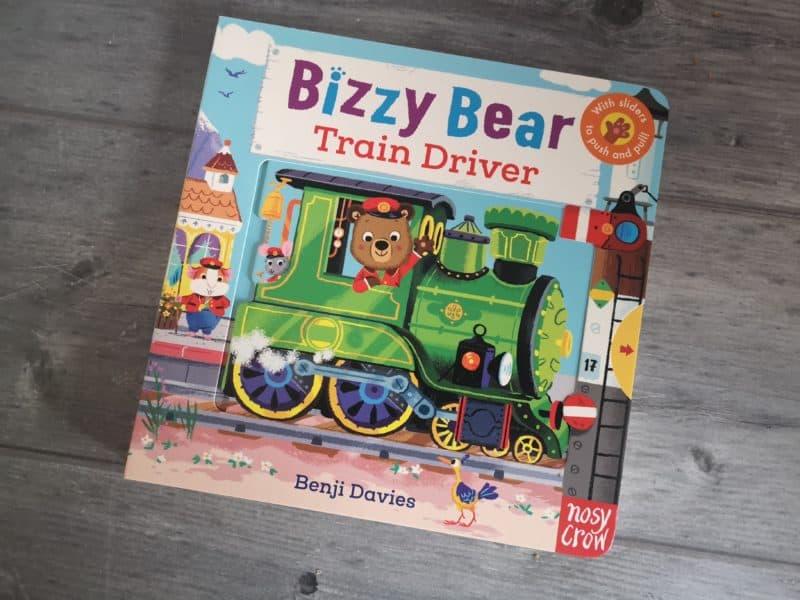 Bizzy Bear Train Driver