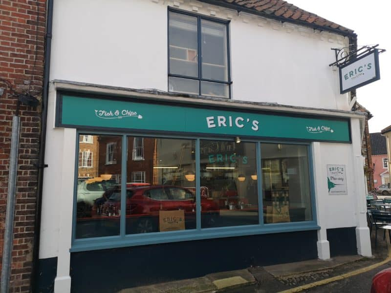 Eric's Fish And Chips, Holt