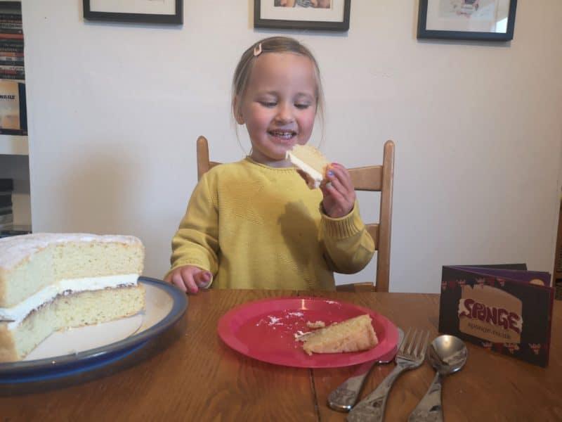 Victoria sponge cake from Sponge