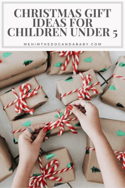 Christmas Gift Ideas For Children Under 5
