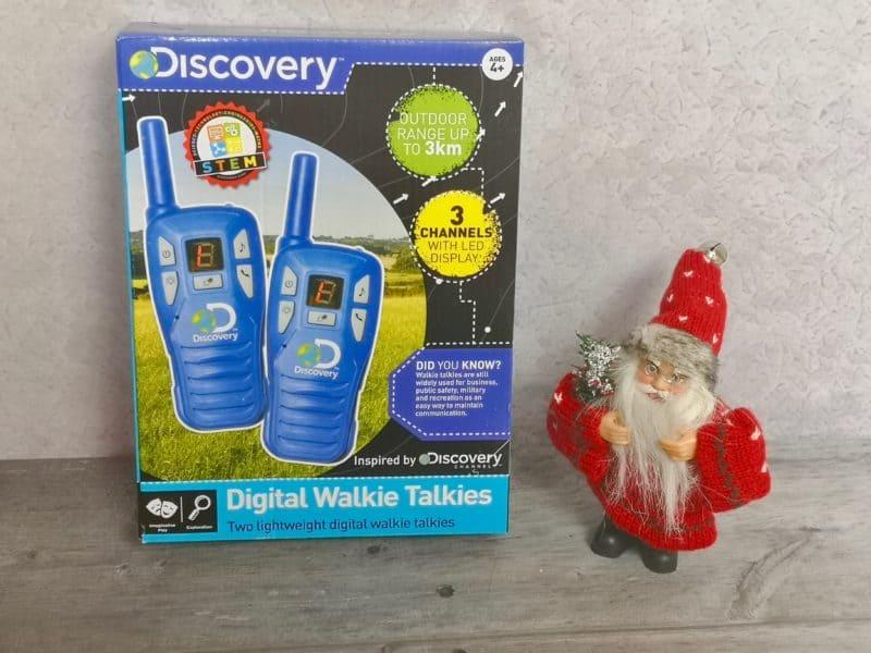 The Discovery Digital Walkie Talkies