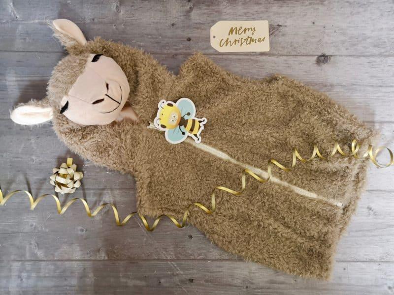 Llama Zip Top - Pretend to Bee