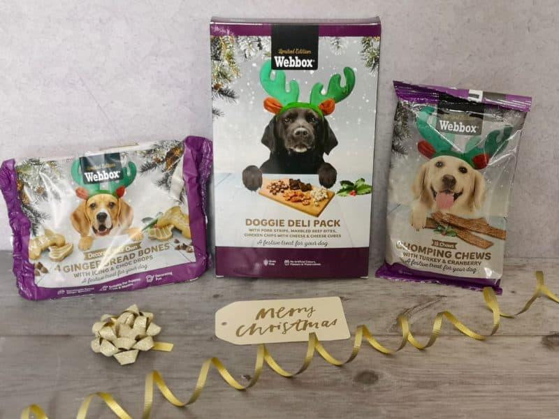 Webbox dog treats