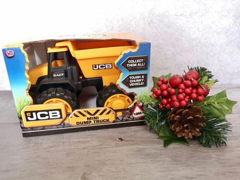 JCB Construction Dump Truck Toy Vehicle