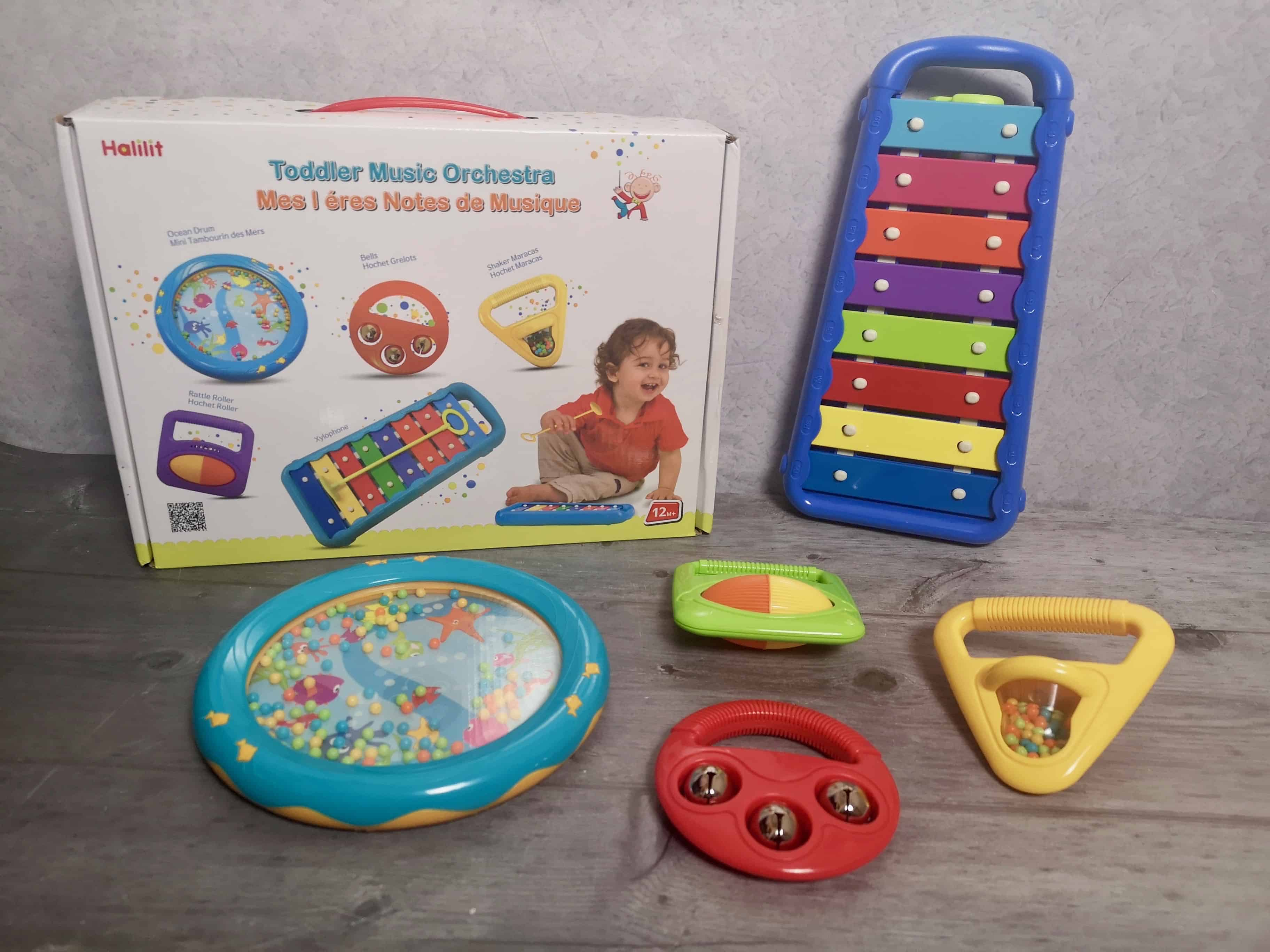 Halilit Toddler Music Orchestra Musical Instrument Set