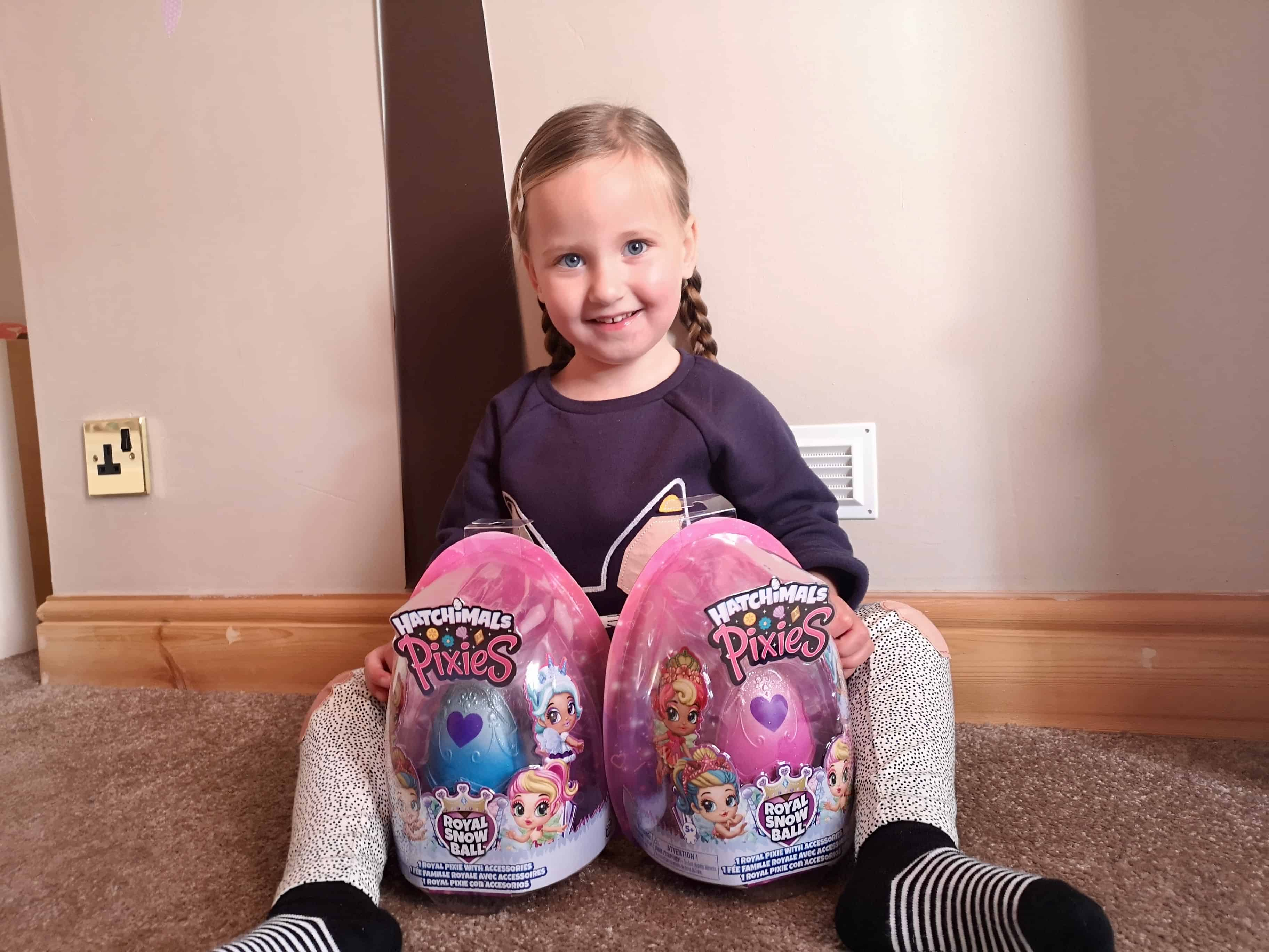 Hatchimals Royal Snow Ball Pixies Review