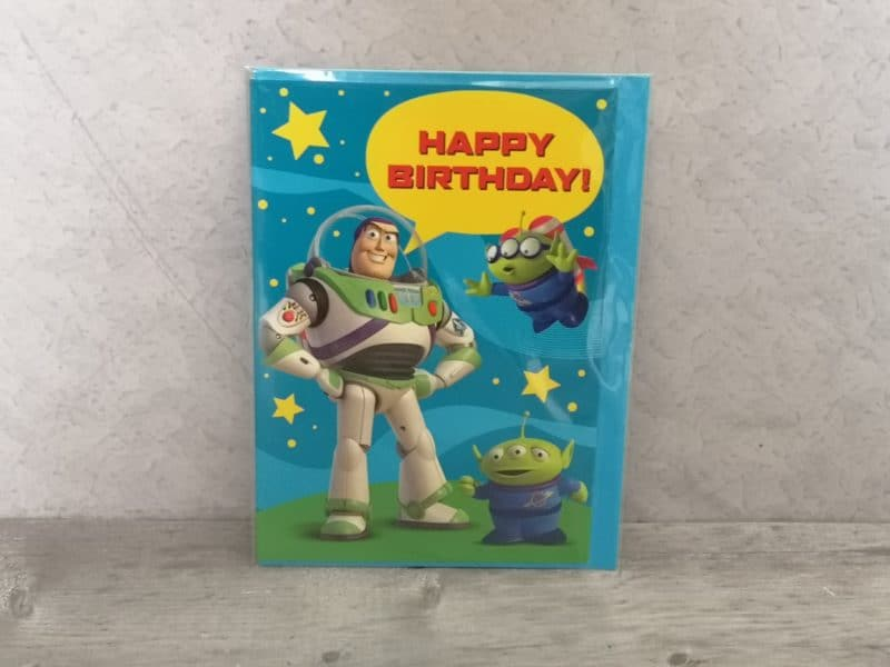 Birthday card from PoundToy