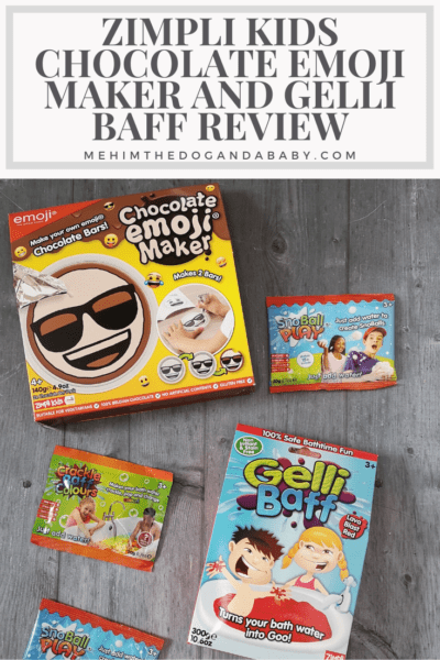 Zimpli Kids Chocolate Emoji Maker And Gelli Baff Review
