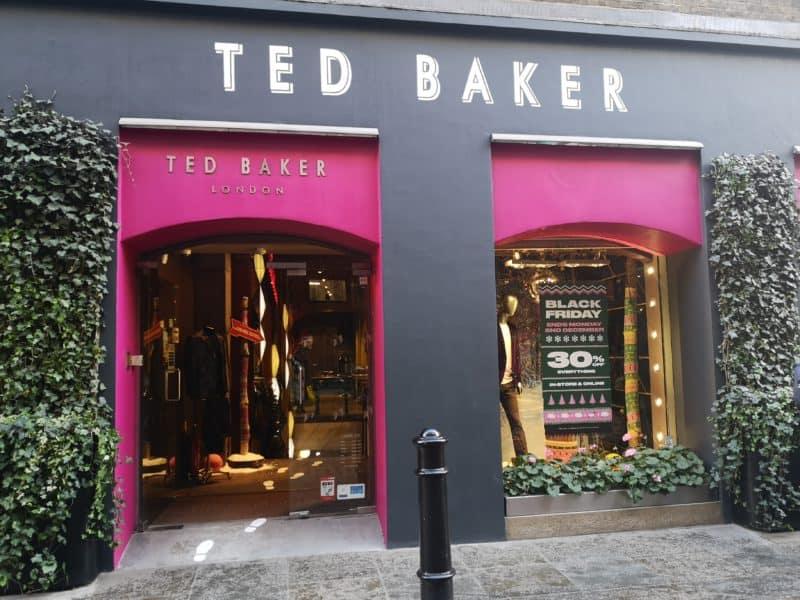 Covent Garden Christmas shops