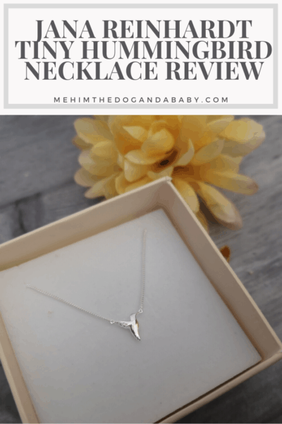 Jana Reinhardt Tiny Hummingbird Necklace Review