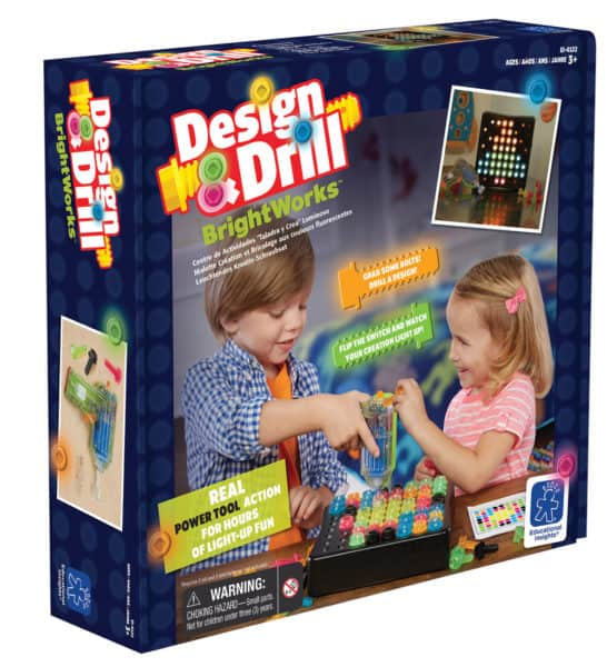 Learning Resources BrightWorks Design & Drill