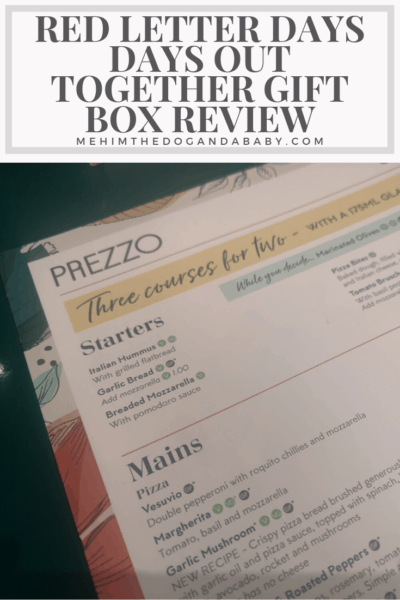 Red Letter Days Days Out Together Gift Box Review