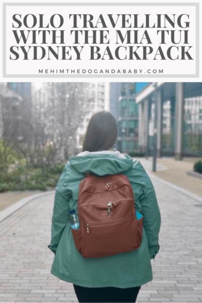 Solo Travelling With The Mia Tui Sydney Backpack