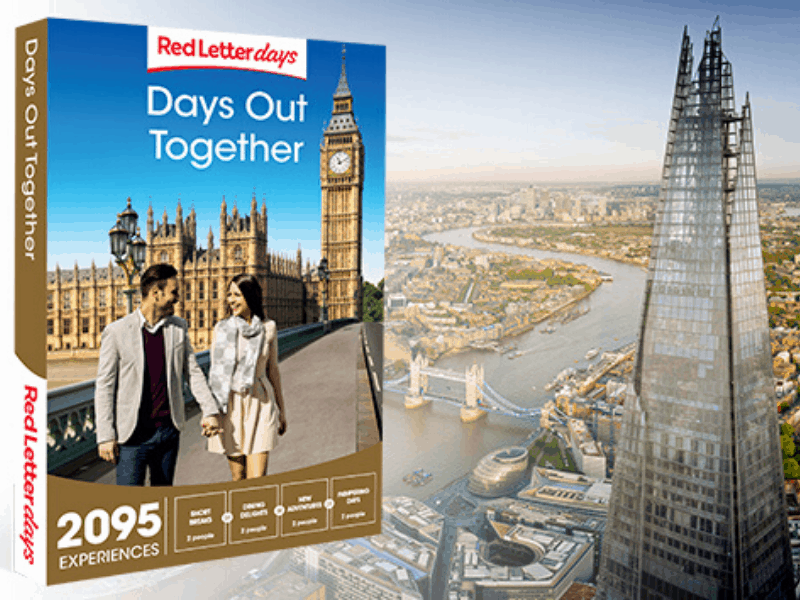 Red Letter Days Days Out Together Gift Box
