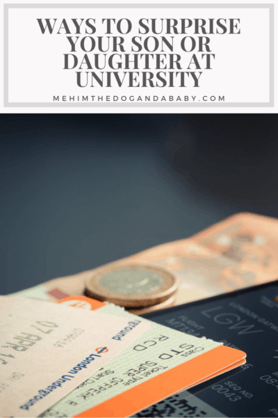 Ways To Surprise Your Son Or Daughter At University