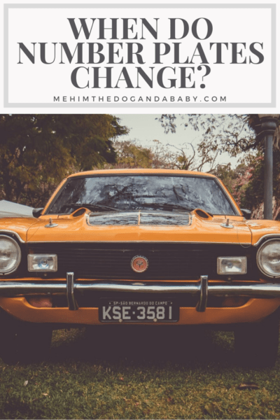 When Do Number Plates Change?