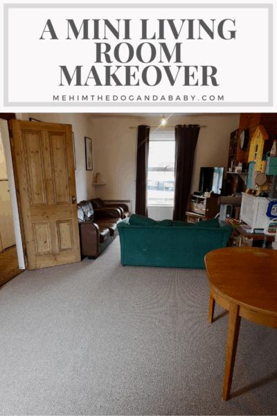 A Mini Living Room Makeover