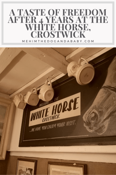 A Taste Of Freedom After 4 Years At The White Horse, Crostwick