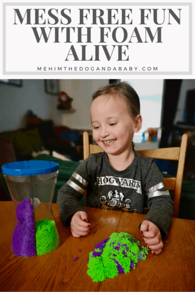 Mess Free Fun With Foam Alive