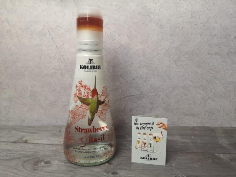 Kolibri Strawberry & Basil Alcohol Free Infusion
