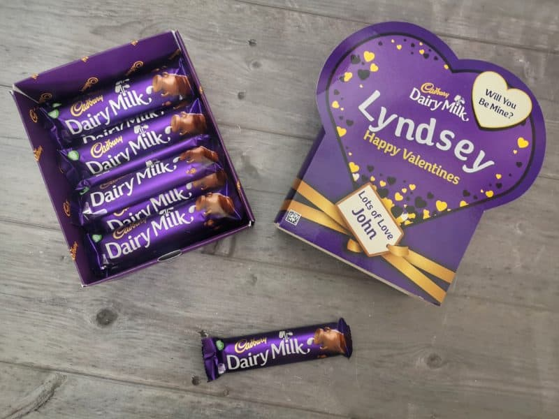 Personal Valentine's favourites box