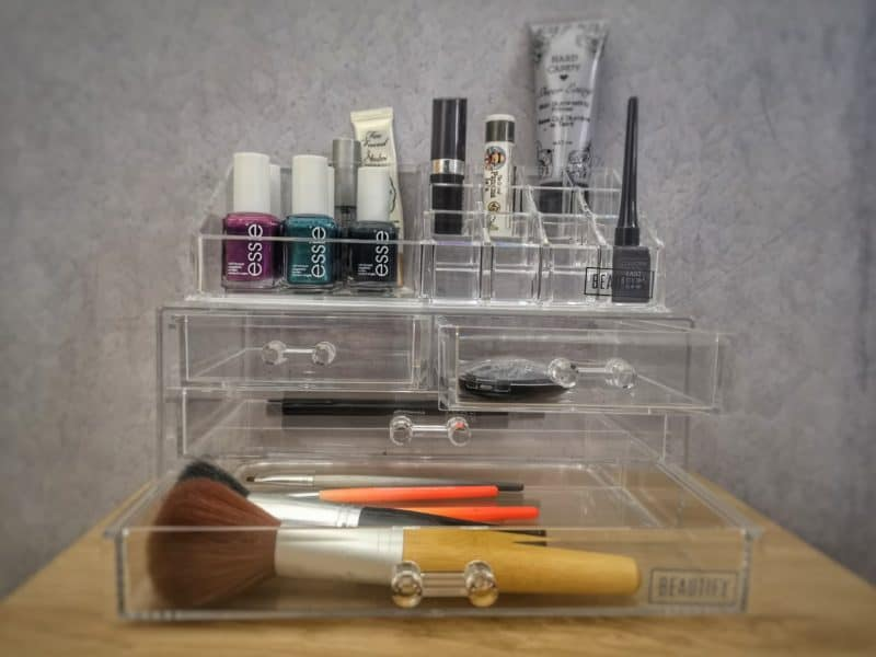 Beautify Makeup Organiser with 4 Drawers