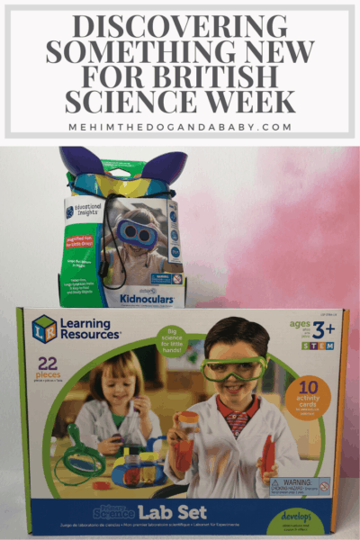 Discovering Something New For British Science Week