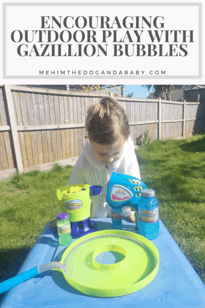 Encouraging Outdoor Play With Gazillion Bubbles