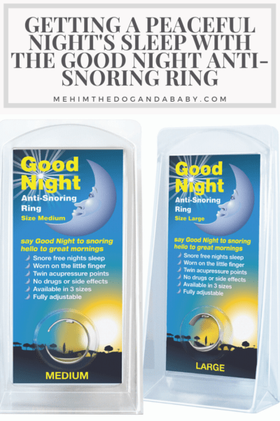 Getting A Peaceful Night's Sleep With The Good Night Anti-Snoring Ring