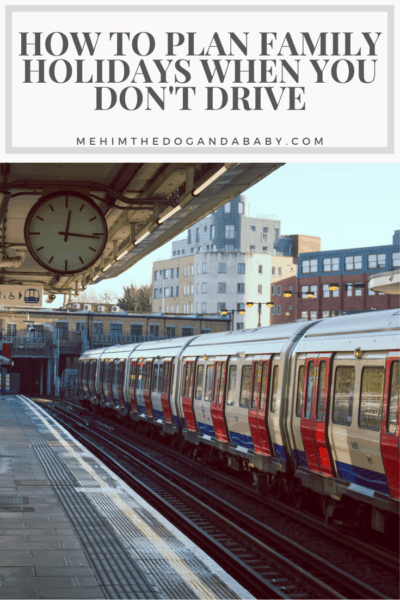 How To Plan Family Holidays When You Don't Drive