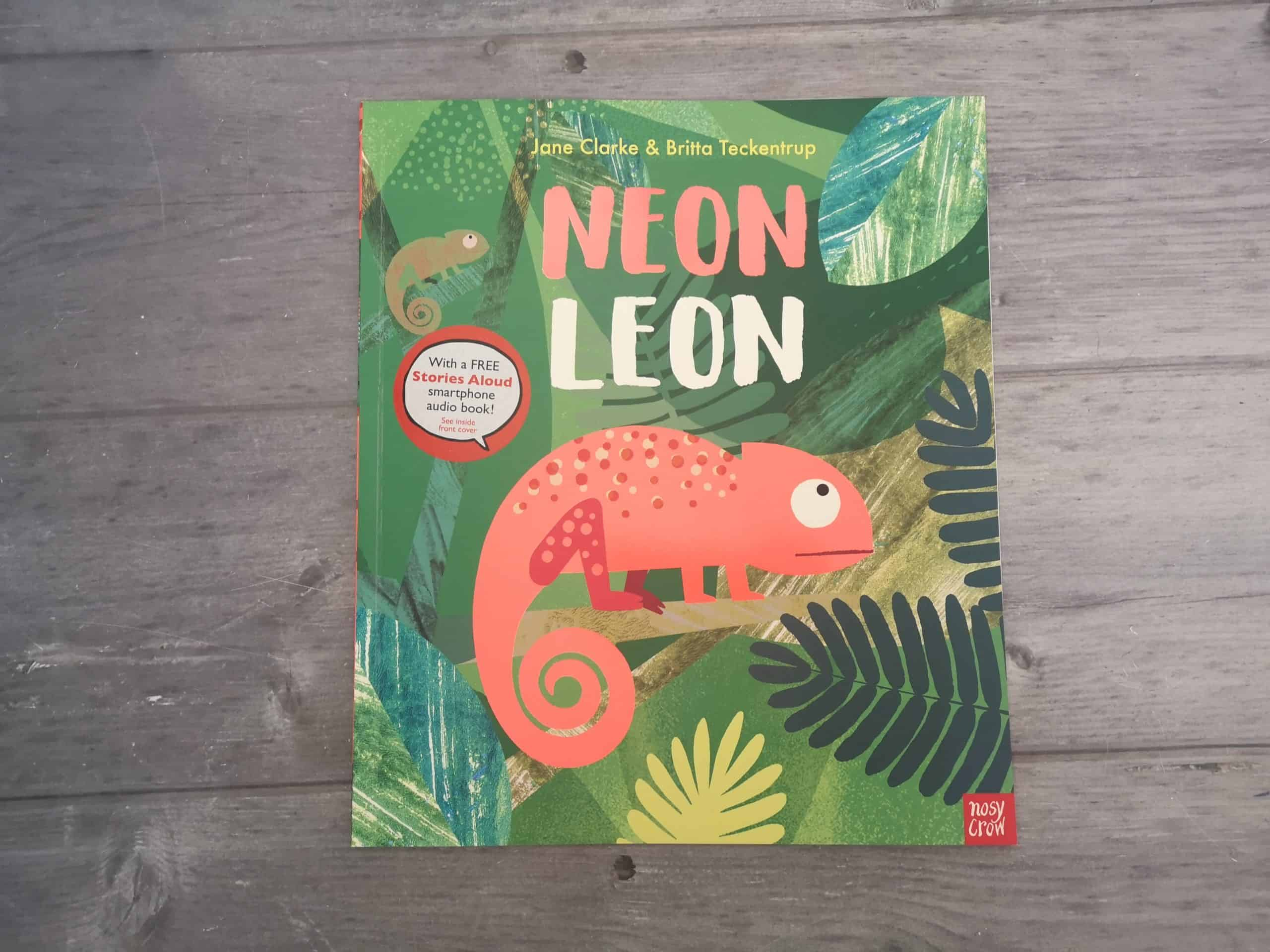 Neon Leon from by Jane Clarke and Britta Teckentrup