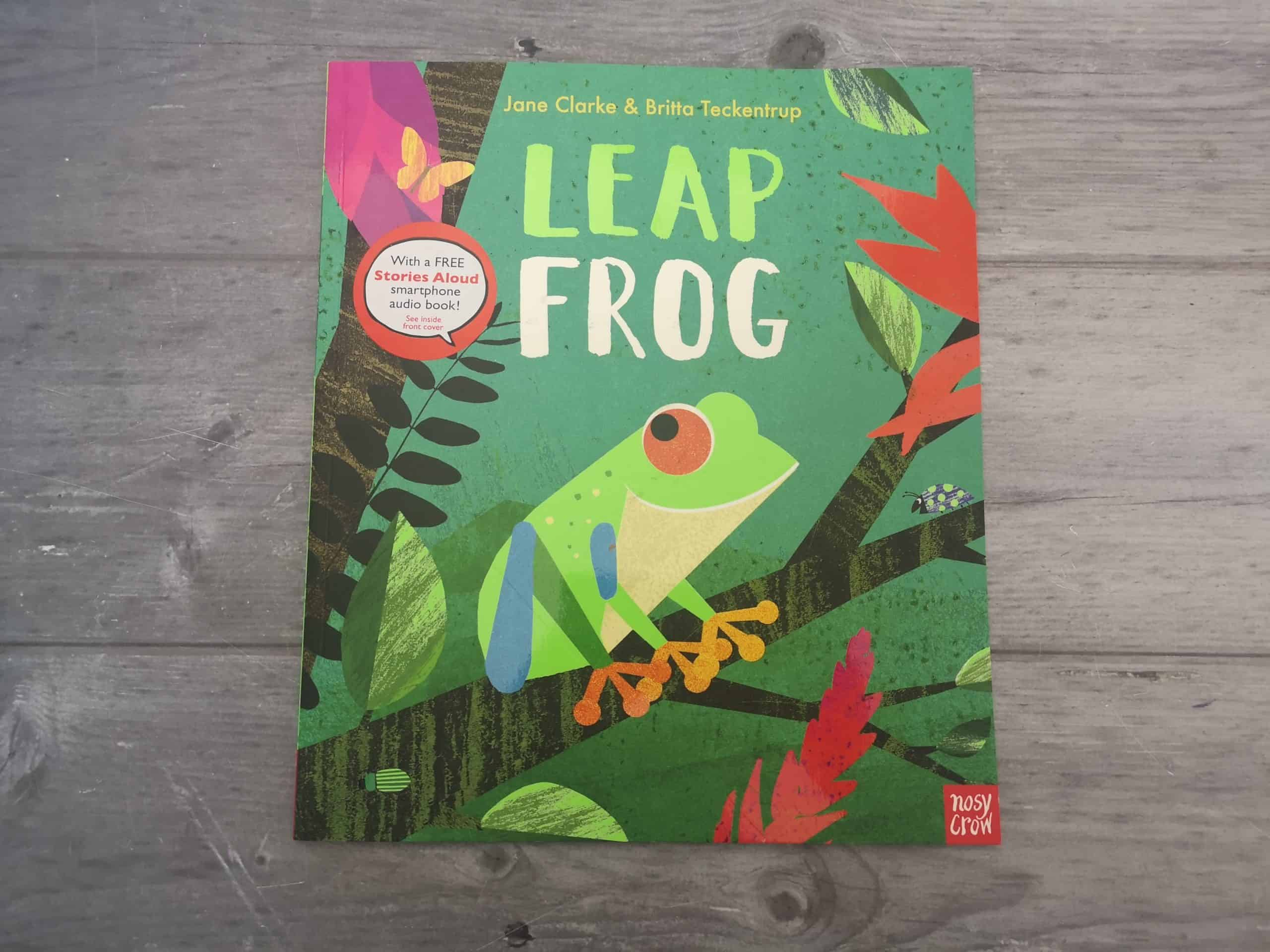 Leap Frog from by Jane Clarke and Britta Teckentrup