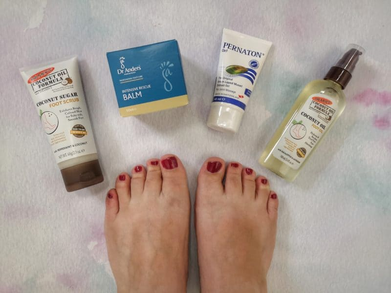 Giving My Feet A Pamper For National Feet Week