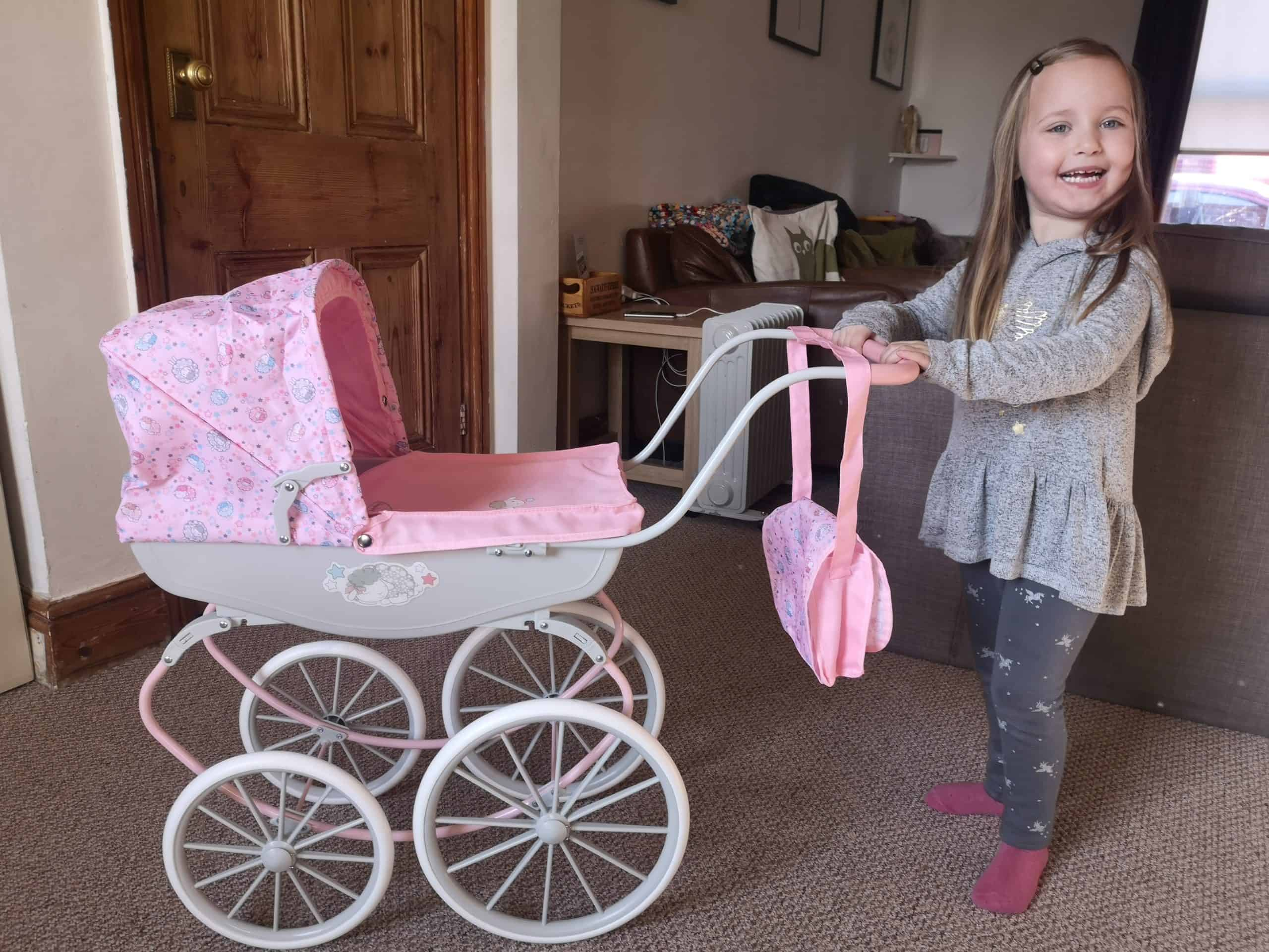 Baby Annabell Carriage Pram Review - Me, him, the dog and ...