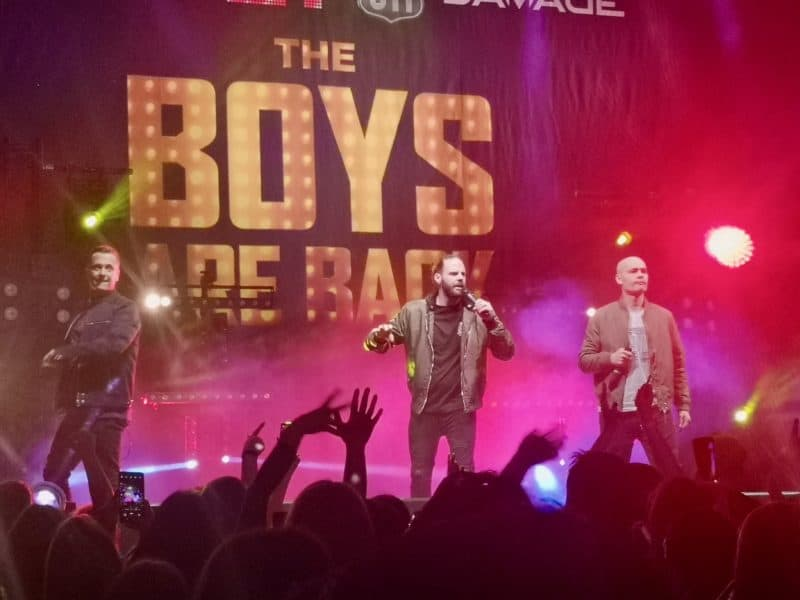 5ive at The Boys Are Back Tour