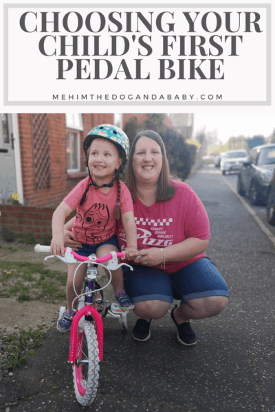 Choosing Your Child's First Pedal Bike
