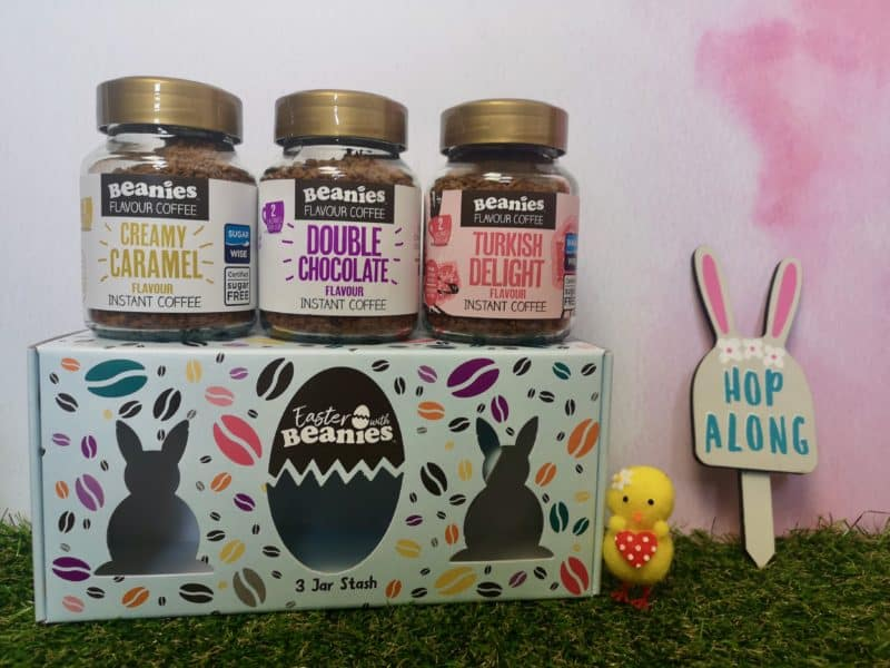 Beanies Flavour Coffee Easter 3 jar stash