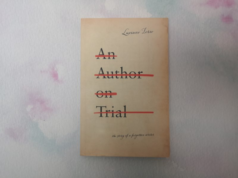 An Author on Trial by Luciano Iorio