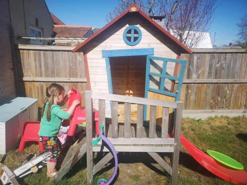 Playhouse in the garden