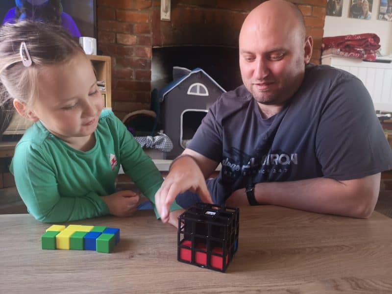 Playing Rubix Cage