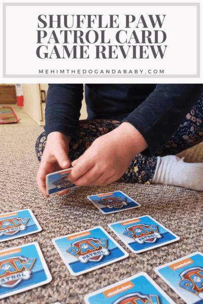 Shuffle Paw Patrol Card Game