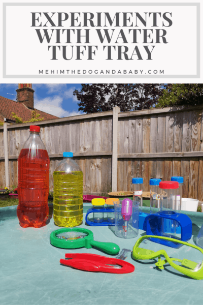 Experiments With Water Tuff Tray