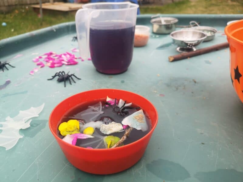 Witches Potion Tuff Tray