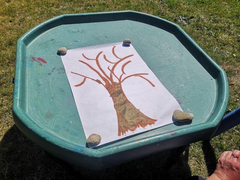 Fingerprint Tree Paintings
