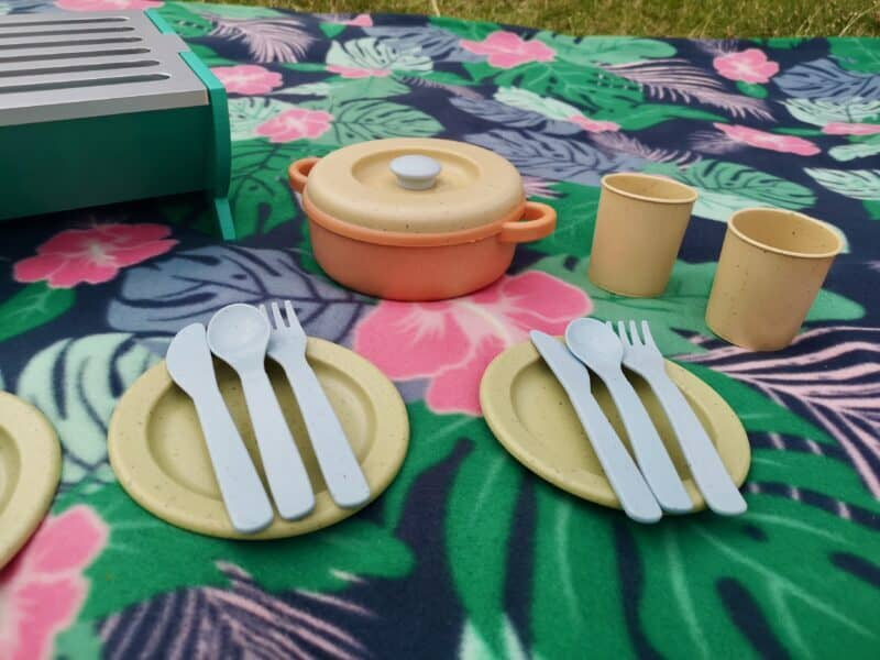 Dantoy Bio-Toy Pretend Play Dinner Set