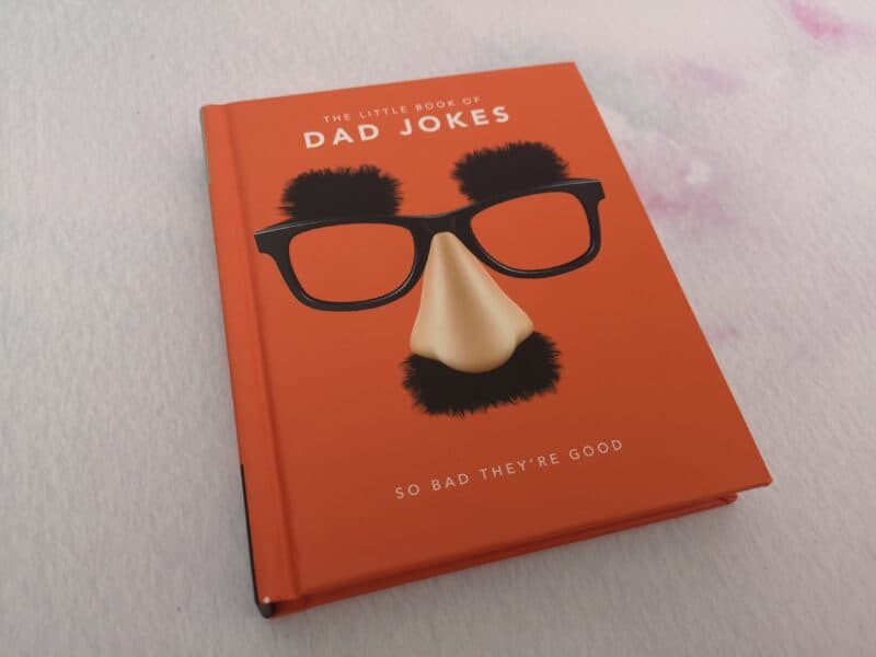 Bad Dad Jokes Book