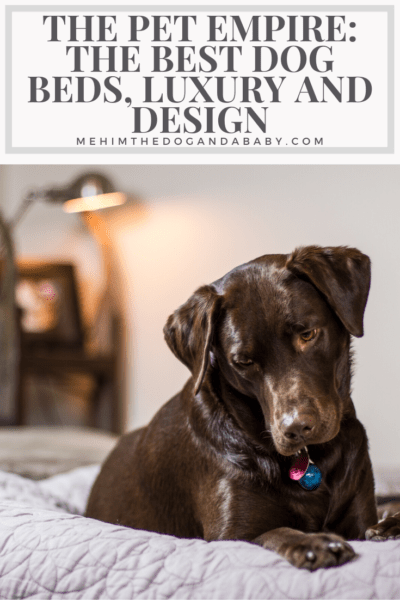 The Pet Empire: The Best Dog Beds, Luxury And Design